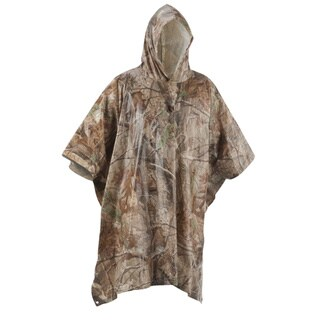 Coleman Realtree Camouflage Poncho