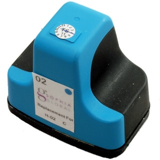 Sophia Global Remanufactured Ink Cartridge Replacement for HP 02 (1 Cyan)