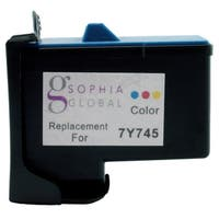 Sophia Global Remanufactured Ink Cartridge Replacement for Dell 7Y745 (1 Color)