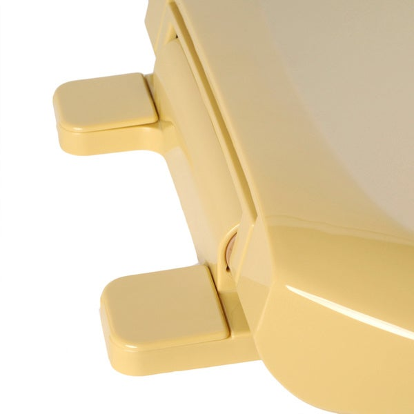 harvest gold toilet seat. Comfort Seats Close Premium Plastic Round Harvest Gold Toilet Seat with a  Closed Front Free Shipping On Orders Over 45 Overstock com 16080679