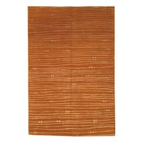 Safavieh Hand-knotted Nepalese Rust Wool/ Silk Area Rug - 9' x 12'