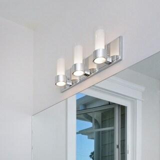 Maxim Silo-Bath 3-light Chrome Vanity Lighting