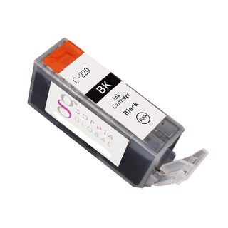 Sophia Global Compatible Ink Cartridge Replacement for Canon PGI-220 (1 Large Black)