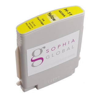 Sophia Global Compatible Ink Cartridge Replacement for HP 11 (1 Yellow)