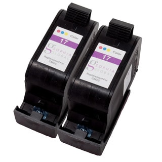 Sophia Global Remanufactured Ink Cartridge Replacement for HP 17 (2 Color)