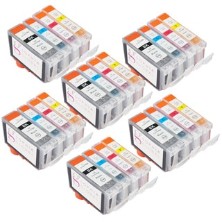 Sophia Global Compatible Ink Cartridge Replacement for Canon BCI-3e and BCI-6 (6 Large Black, 6 Cyan, 6 Magenta, 6 Yellow)