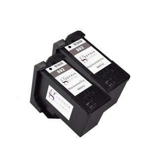 Sophia Global Remanufactured Ink Cartridge Replacement for Dell MK992 Series 9 (2 Black)