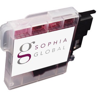 Sophia Global Compatible Ink Cartridge Replacement for Brother LC65 (1 Magenta)