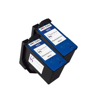 Sophia Global Remanufactured Ink Cartridge Replacement for Dell MK993 Series 9 (2 Color)