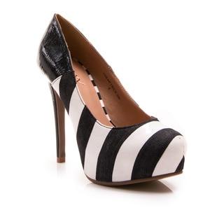 Go Max Women's Shoe Cheap Trick 04F Strap High Heel Platform Pump
