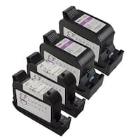 Sophia Global Remanufactured Ink Cartridge Replacement for HP 45 and HP 41 (2 Black, 2 Color)