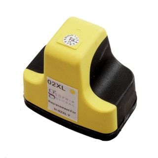 Sophia Global Remanufactured Ink Cartridge Replacement for HP 02XL (1 Yellow)