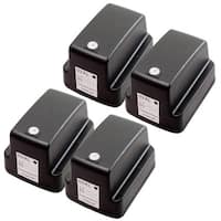 Sophia Global Remanufactured Ink Cartridge Replacement for HP 02XL (4 Black)