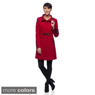 Via Spiga Women's Wool Blend Walker Coat