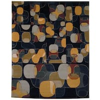 Safavieh Hand-knotted Nepalese Modern Multicolored Wool/ Silk Rug - 8' x 10'