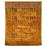 Safavieh Hand-knotted Lavar Multi/ Rust Wool Rug - 6' x 9'