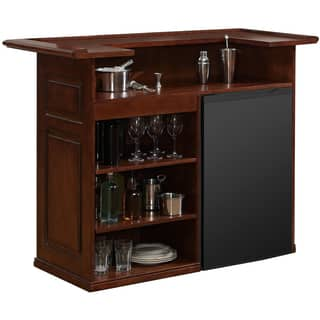 Sanford 58 Inch Brown Home Bar E