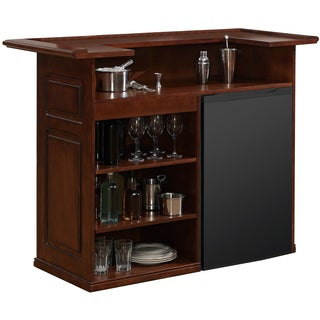 Sanford 58 Inch Brown Home Bar Space