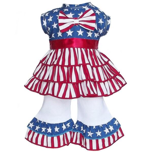 AnnLoren American Girl Dolls July Flag Rumba Outfit