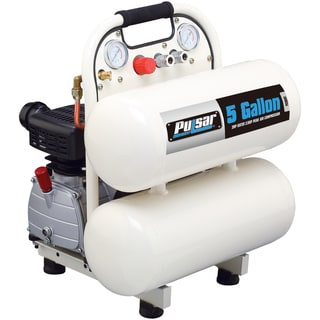 Pulsar Products 5-gallon Twin Tank Air Compressor