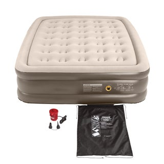 Coleman Double High Queen Quickbed and Electric Pump
