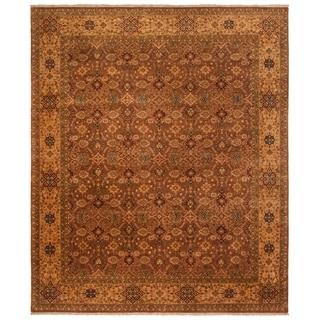 Safavieh Hand-knotted Lavar Rust/ Creme Wool Rug (8' x 10')