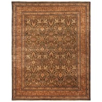 Safavieh Hand-knotted Lavar Moss/ Gold Wool Rug - 8' x 10'