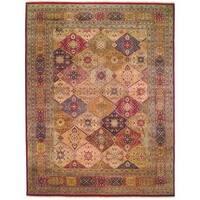 Safavieh Hand-knotted Lavar Multi/ Rust Wool Rug - 8' x 10'
