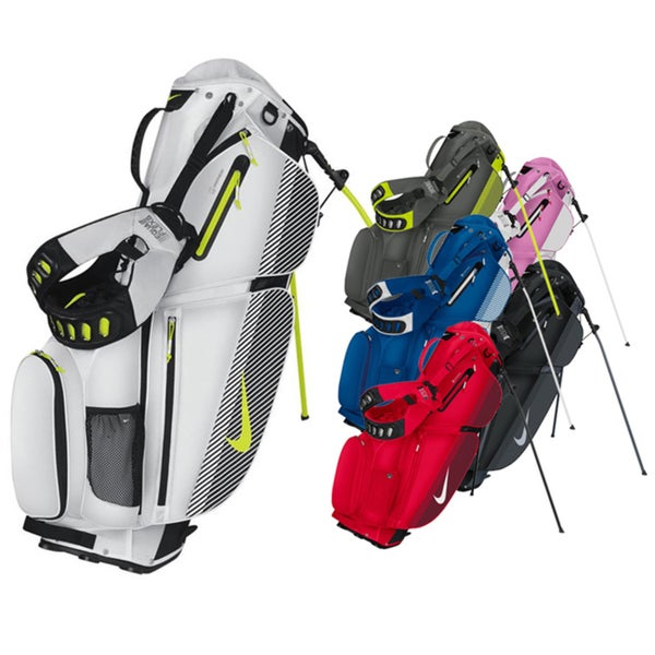 Shop Nike Air Sport Stand Golf Bag - Free Shipping Today - Overstock ... 107eb200cab