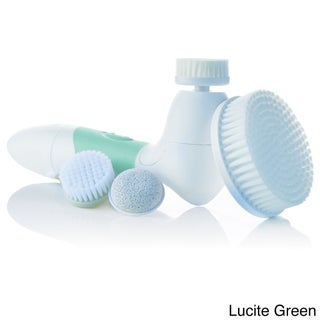 Spin for Perfect Skin Face and Body Cleansing Brush (Option: green)