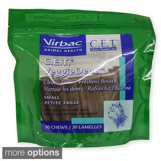 Virbac C.E.T. VeggieDent Chews for Dogs