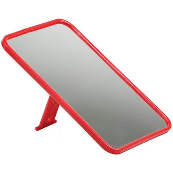 Coleman Camp Mirror Red
