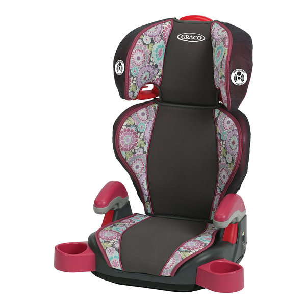 graco highback turbobooster car seat in emille free shipping on orders over 45 overstock. Black Bedroom Furniture Sets. Home Design Ideas