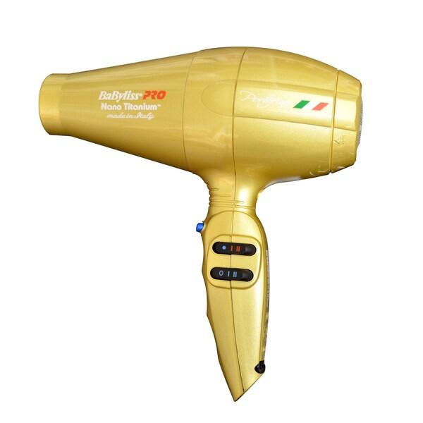 BaByliss Pro Gold Portofino 6600 Hair Dryer