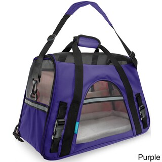 OxGord Large Soft-sided Comfort Travel Tote Pet Carrier for Cats/ Dogs Up to 22 Pounds
