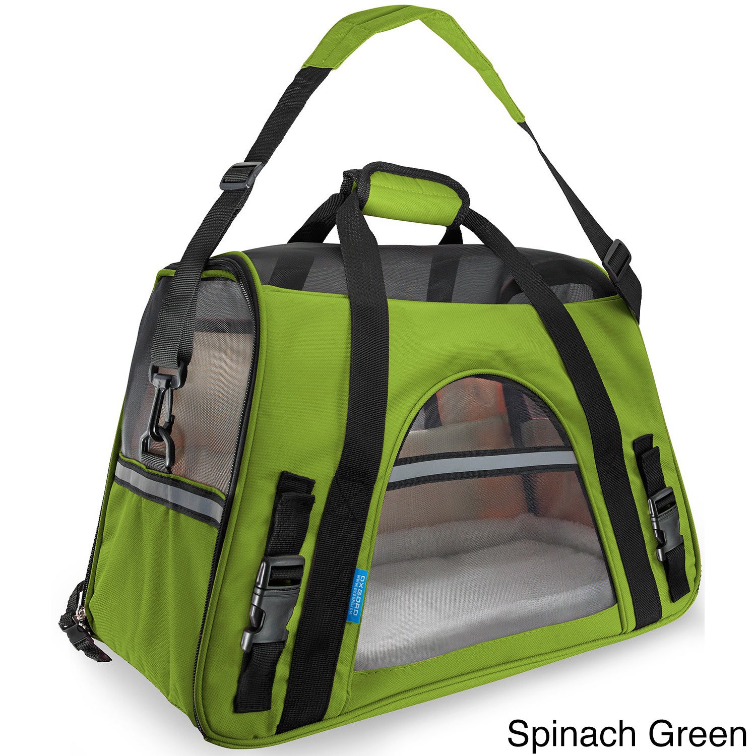 Oxgord Large Pet Carrier Soft-sided Cat/ Dog Comfort Trav...