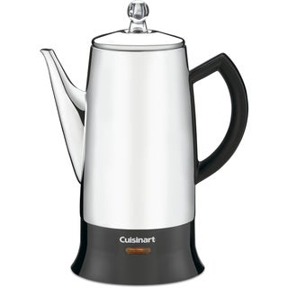 Cuisinart Classic 12-Cup Percolator (Refurbished), Stainless
