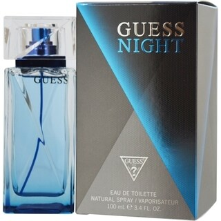 Guess Night Men's 3.4-ounce Eau de Toilette Spray