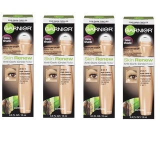 Garnier Skin Renew Anti-Dark Circle Roller (Pack of 4)
