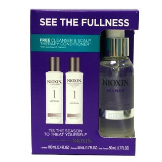 Nioxin Diamax Thickening 3.4-ounce Xtrafusion Treatment with System 1 Cleanser and Scalp Therapy Kit