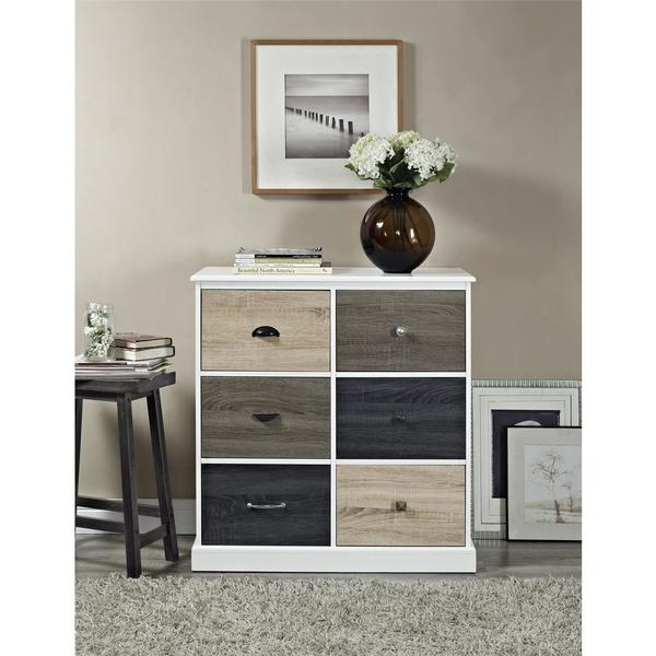 Amazing Shop Ameriwood Home Mercer 6 Door Storage Cabinet With Multi Interior Design Ideas Ghosoteloinfo