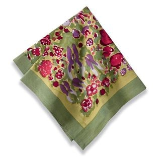 Jardine Red/ Green Napkins (Set of 6)