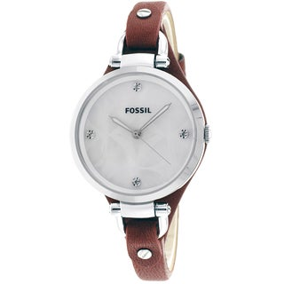 Fossil Women's Georgia Mother of Pearl Watch
