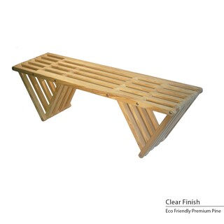 Eco Friendly Bench X60 (Option: Clear)
