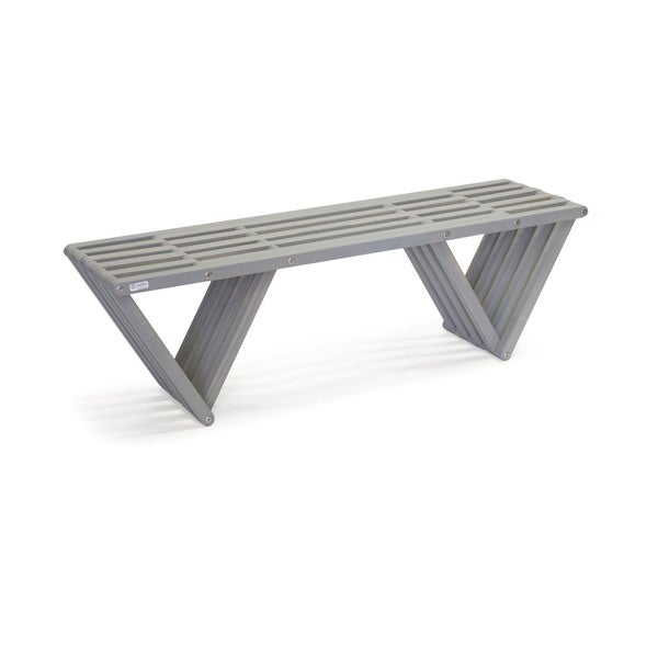 "Wood Bench X60 Made in America Eco-friendly Modern Style L 54"". Opens flyout."