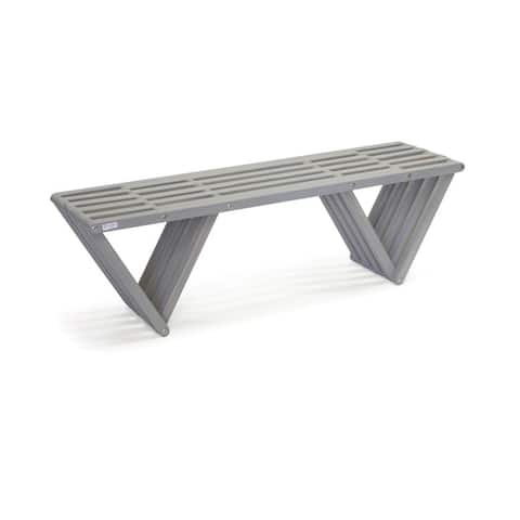 Wood Bench X60 Made in America Eco-friendly Modern Style L 54""