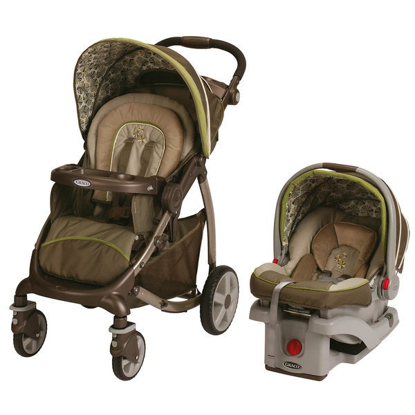 Graco Stylus Click Connect Travel System in Calypso