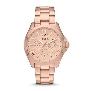 Fossil Women's Cecile Rose Goldtone Chronograph Watch|https://ak1.ostkcdn.com/images/products/8854867/P16082891.jpg?impolicy=medium