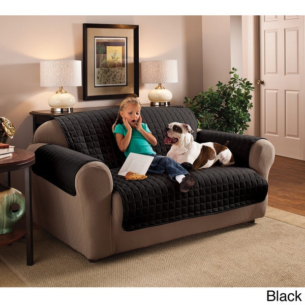 Shop Innovative Textile Solutions Microfiber Furniture Protector Sofa  Slipcover   Free Shipping Today   Overstock.com   8855486