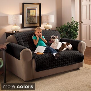 Innovative Textile Solutions Microfiber Solid-colored Furniture Protector Sofa Slipcover (3 options available)